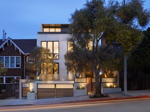 Photo reveal: A $34 million San Francisco mansion billed as a 'wellness home' has a sauna, yoga studio, and filtration system that changes all the air in the house every 2 hours. Take a look inside