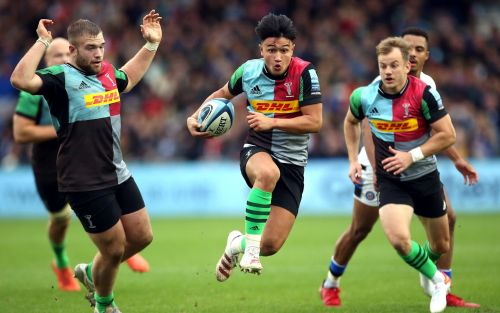 Harlequins go through the gears to eventually overwhelm spirited Bath