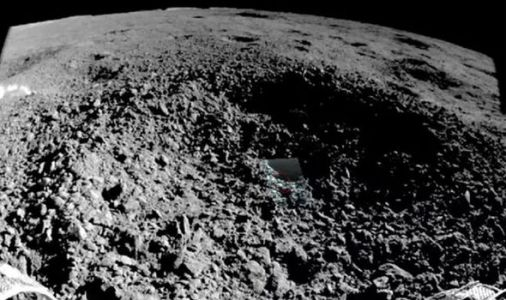 Chang'e-4: Chinese lunar rover photographs 'gel-like' substance from far side of Moon