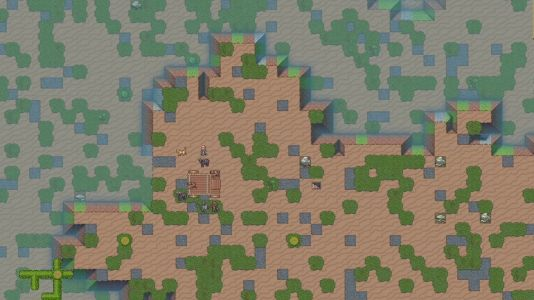 Ten minutes of Dwarf Fortress gameplay highlights deserts and mushroom trees