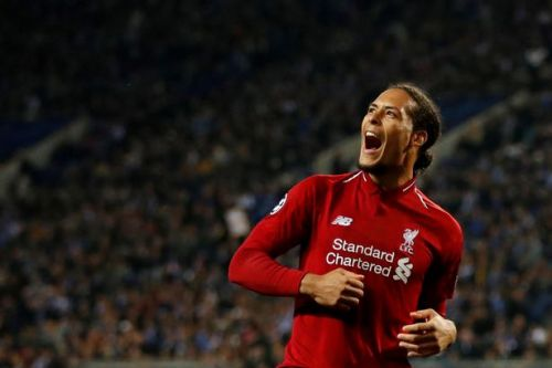 Virgil van Dijk scoops PFA Players' Player of the Year as Liverpool hero earns top gong