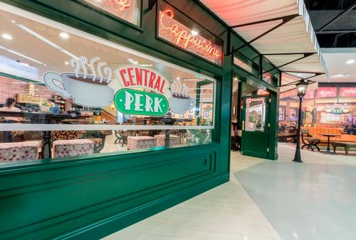 Oh My Gawd - A Look Inside Manchester's New Central Perk Cafe