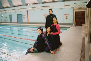 Introducing Muslim Sisterhood: the artistic collective encouraging women of all backgrounds, body types and abilities to participate in water sports