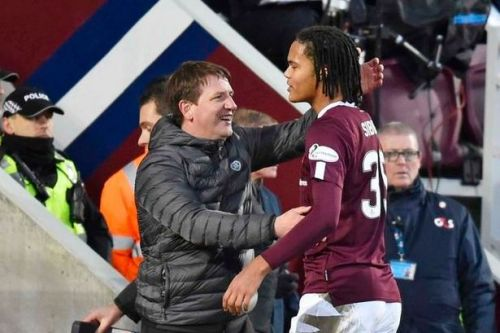Hearts loanee Toby Sibbick admits sharing pitch with boyhood heroes is 'crazy'
