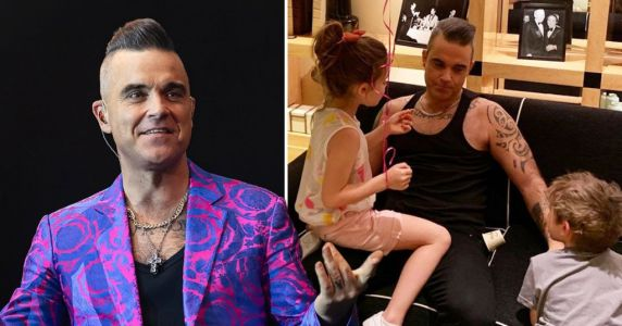 Robbie Williams 'convinced' he had coronavirus during isolation away from family