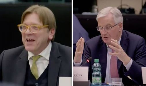 EU behind the scenes: Moment EU leaders PLOT Brexit strategy - 'Only way to avoid NO DEAL'