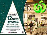 Forget chocolate! Woolworths celebrates '12 Days of Cheese-mas' with a VERY unique advent calendar