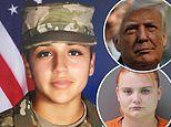 President Trump to meet with the family of slain Fort Hood soldier Vanessa Guillen