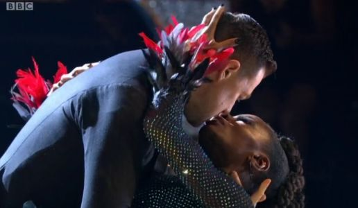 Strictly 2021: Fans obsessed with chemistry between AJ Odudu and Kai Widdrington as they share 'near-kiss'