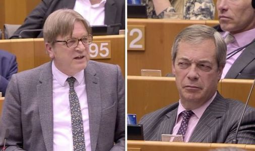 Guy Verhofstadt makes final swipe at UK saying BREXIT threatens sovereignty - NOT EU