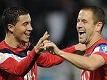 Eden Hazard reveals how Joe Cole convinced him to sign for the club