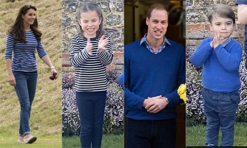 Royals fans notice incredible detail in Kate Middleton's video of Prince George, Charlotte and Louis