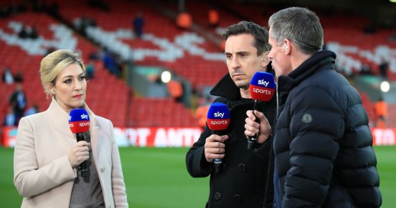 Neville, Carragher clash over five players for team of the season as Liverpool overlooked