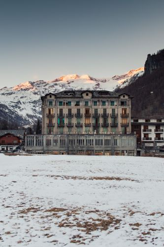 Abandoned Hotel in the Italian Alps