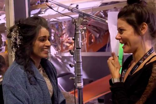 Behind the scenes on Rana's death scene - watch the Coronation Street video