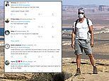Matthew McConaughey angers fans after posting photo of himself alone in nature with a mask on