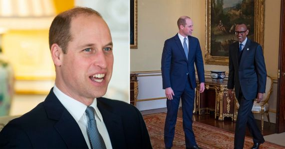 Prince William meets African leaders ahead of hosting first solo reception