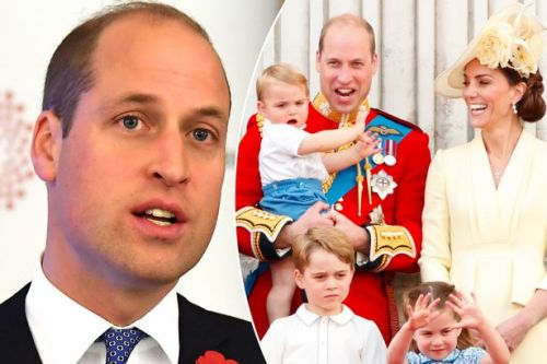 Prince William admits being a dad to Prince George, Princess Charlotte and Prince Louis is 'tiring'