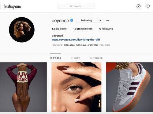 Beyoncé revealed the first look at her Adidas collaboration in a series of viral posts, and it shows the massive advantage she will bring to the brand