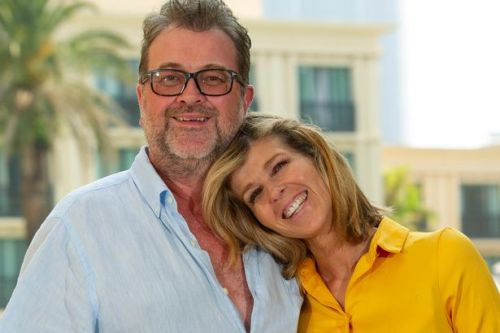 Kate Garraway in tears as husband says first word since start of covid-19 battle