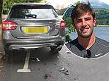 Love Island star Jack Fincham caused damage to a vehicle after CRASHING into parked car