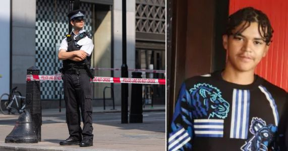 First picture of teenager stabbed to death near Oxford Street