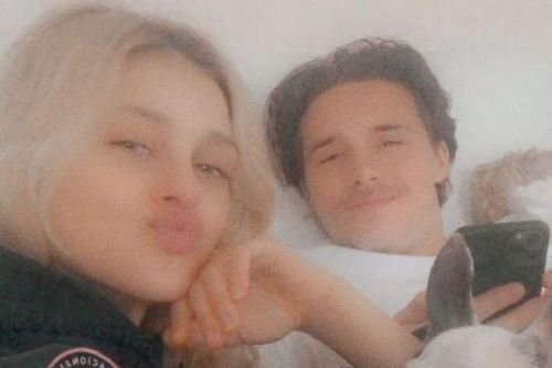 Brooklyn Beckham and Nicola Peltz share intimate self isolation snaps