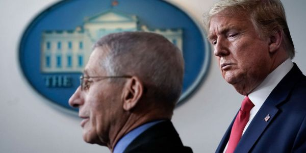 The Trump administration is backing down from its war with Dr. Fauci after it became obvious it was backfiring