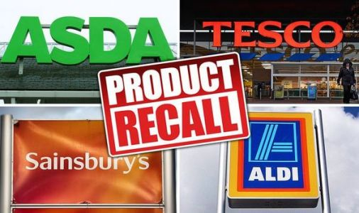 Tesco, Sainsbury's, Aldi and more recall foods amid health and allergy fears - full list