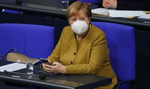 Merkel meeting hit by bizarre clash as ally defends Smurf insult - 'Small and cunning'