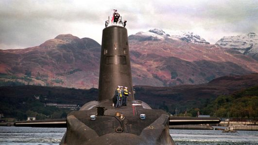 Nuclear submarine metres from hitting Belfast ferry, investigation finds