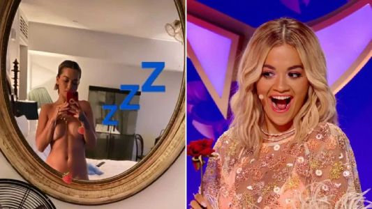 Rita Ora poses naked on the 'gram before sharing dreams about The Masked Singer crush