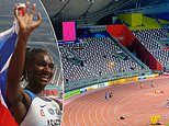 World Championships in Doha criticised for pathetic attendance