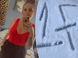 Woman praises TikTok followers after identifying danger after 'gang symbol' appeared outside home