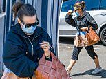 Lisa Wilkinson keeps a low profile as she leaves her local cafe amid memoir controversy