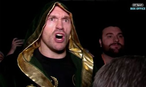 Tyson Fury ring walk music: What song will Fury walk out to vs Tom Schwarz?