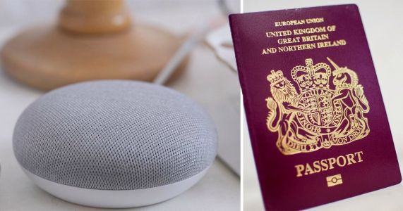 You can now apply for a passport by asking Alexa or Google