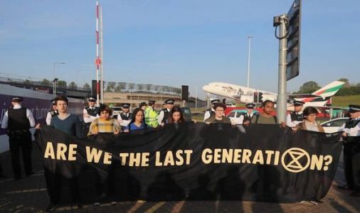 Heathrow protests: Extinction Rebellion activists plot to DISRUPT Easter travel plans