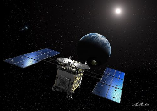 Japanese asteroid sampling mission on course for return to Earth