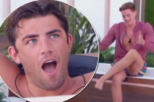 Dr Alex wows with science facts before getting a hilarious 'flossing' lesson in Love Island outtakes