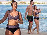 Jacqueline Jossa puts on a loved-up display with husband Dan Osborne in Dubai