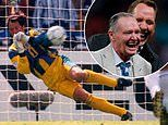 Euro 2020: Former England keeper Seaman looks back on denying McAllister from the spot at Euro 96
