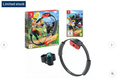 Where can you buy a Switch Ring Fit? These retailers still have stock