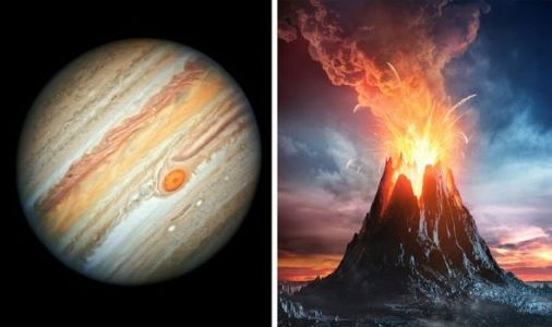 Jupiter shock: Largest volcano on Jupiter's moon Io is about to blow - Visible from Earth