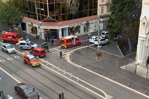 Nice 'terror attack' as man and woman beheaded near French church