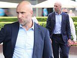 Chris Judd looks dapper as he enjoys a solo outing at the Magic Millions Race Day