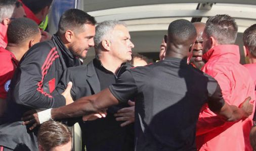 Man Utd boss Jose Mourinho could face touchline ban after Chelsea confrontation