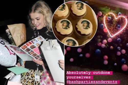 Inside Lucy Fallon's lavish Coronation Street leaving do with cupcakes and cocktails