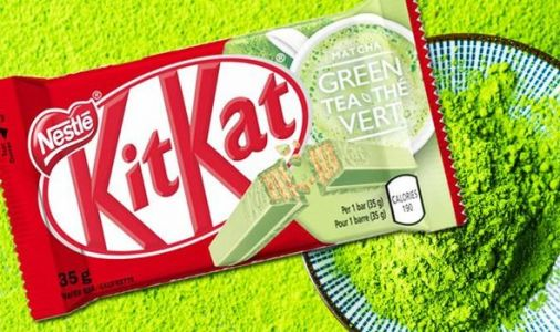 New green Kitkat: Japanese flavours to be sold in the UK including matcha tea