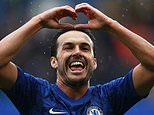 Chelsea forward Pedro reveals anguish at being split from his family amid coronavrius outbreak